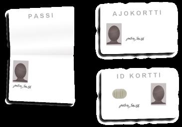 Henkilöllisyyden vahvistaminen. Passi, ajokortti ja ID-kortti - CasinoApu