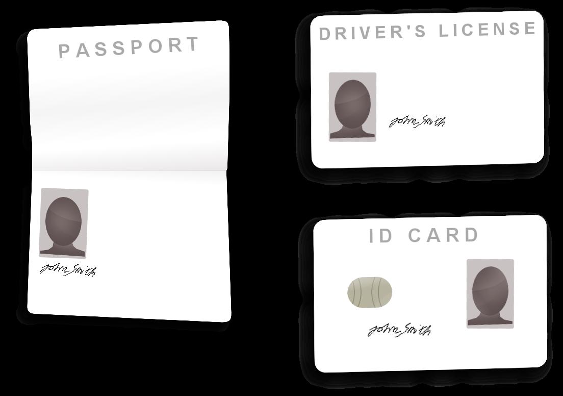 Identity verification. Passport, driver's license ja ID card - CasinoApu