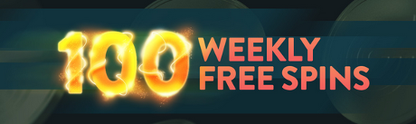 100 free spins every week, 2015 september