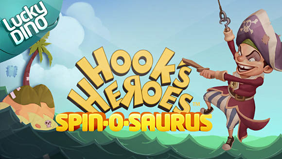 New game Hook's Heroes free spins today, 2015 september