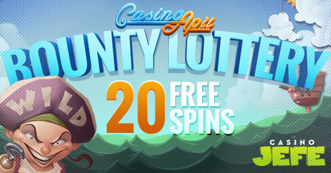 CasinoJEFE free spins today, all countries