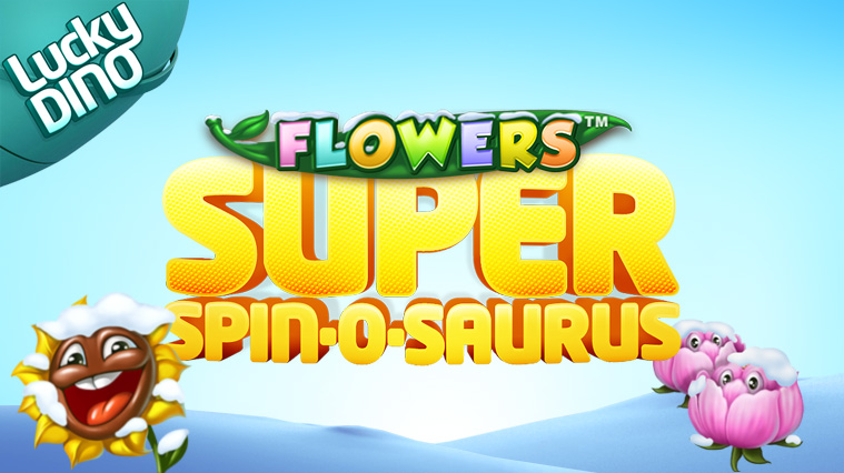 Super Spins Flowers, 2016, LuckyDino, Now