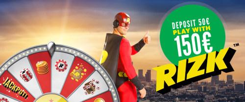 Pelaa vähintään 10 ilmaiskierrosta casinolla